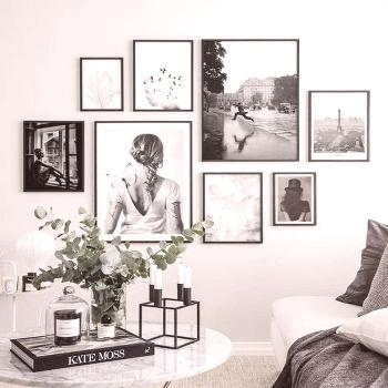 48 Awesome Gallery Wall Design Ideas