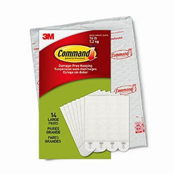 Command PH206-14NA Heavy Duty, Holds 16 lbs Picture Hanging