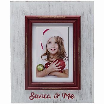 Fine Photo Gifts Santa & Me Wood Picture Frame