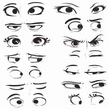 how to draw - eye - volume 2049 | Mobile pictures for free