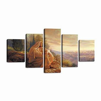 Jesus Pictures for Wall Jesus Canvas Posters Christian Faith