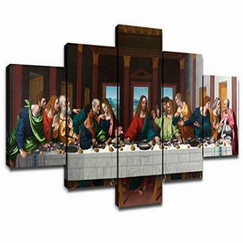 Last Supper Wall Art for Living Room Wall Decor Prints Frame