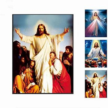 The Divine Mercy Jesus Christ 3D Picture, Holographic Poster