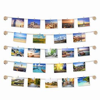 TWING Clip Photo Display - Easy Install Self Adhesive 3M