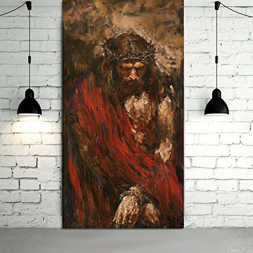 Abstract Canvas Prints Jesus Christ Wall Art Photos of Oil