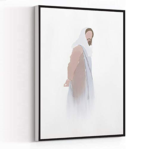 CANVAS PAINTING ,decor for room ,Jesus in Thought