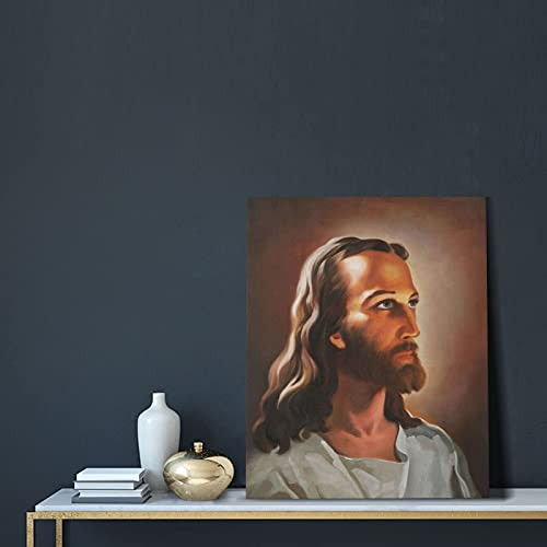 Jesus Christ Canvas Wall Art Jesus Pictures Wall Canvas Head